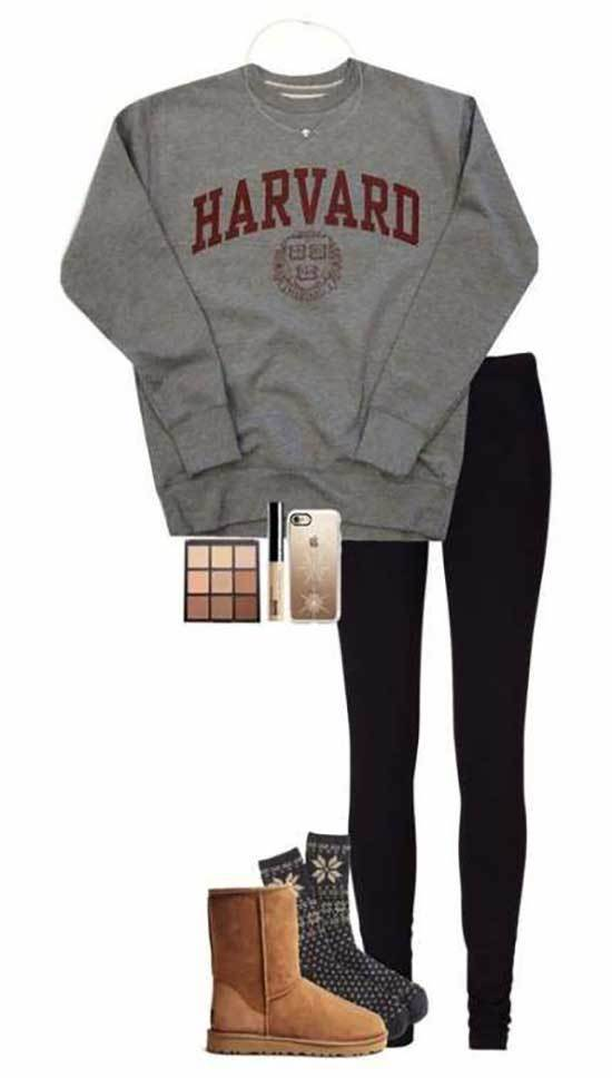 Ugg Boots Outfit Ideas-8