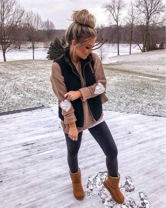Ugg Boots Outfit Ideas-9