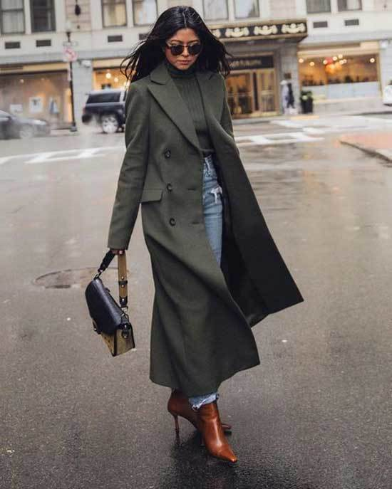Grey Trench Coat Outfit