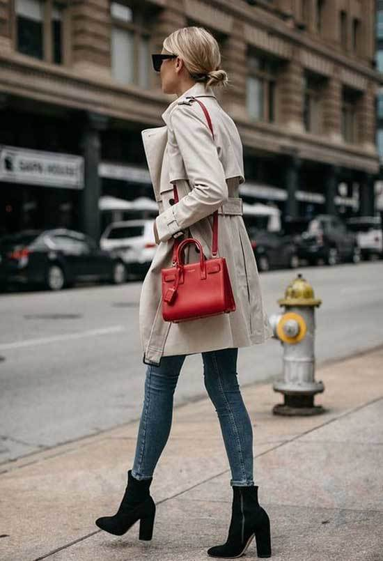 Outfit Trench Beige