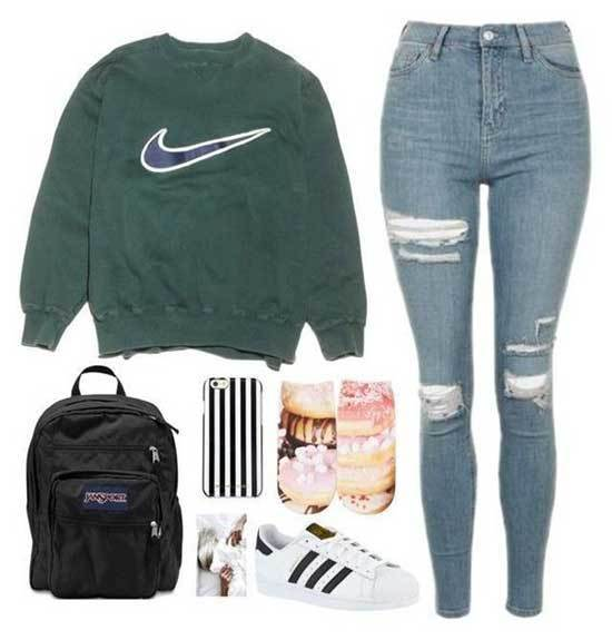 Simple Outfits for High School-11