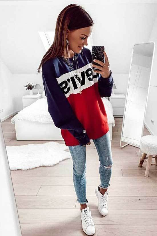 Simple Cute Outfits for School-13