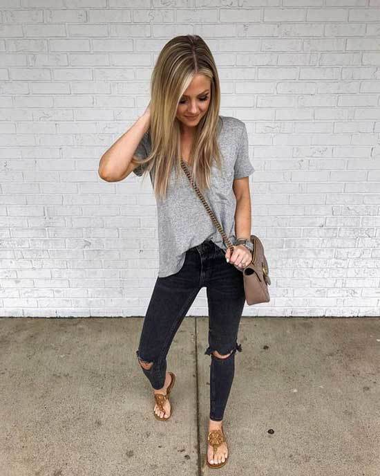 Cute Spring Outfit Ideas for 2020-15