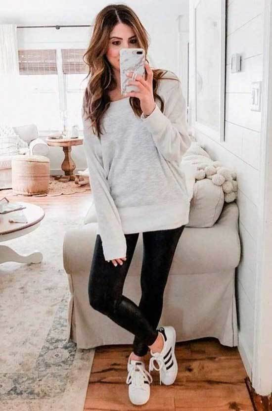 Simple Outfits for College-15