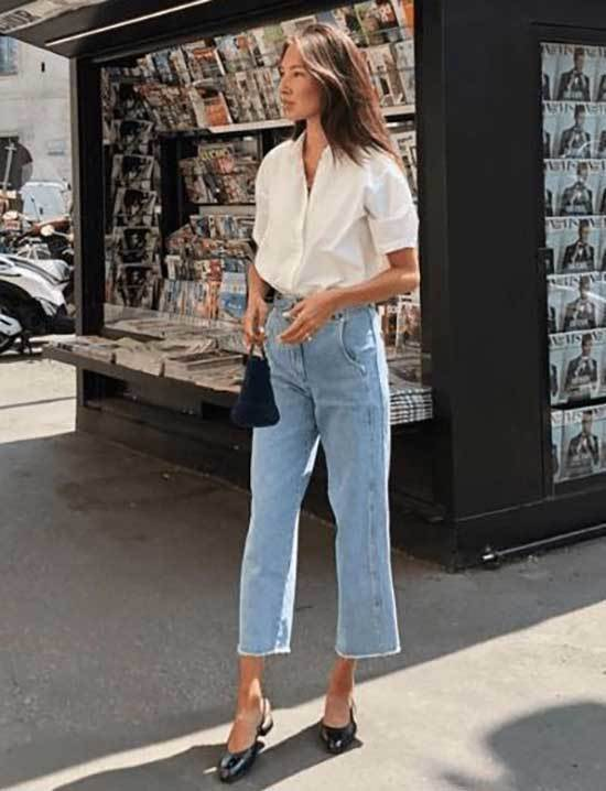 Spring Mom Jeans Outfit Ideas for 2020-17