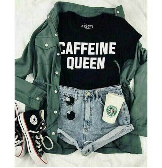 Simple Outfits for School-18