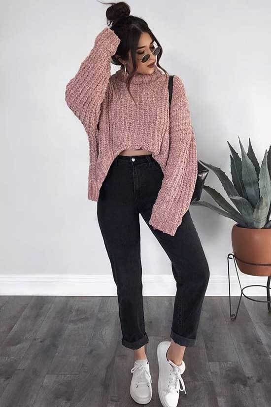 Simple Outfits for School-19