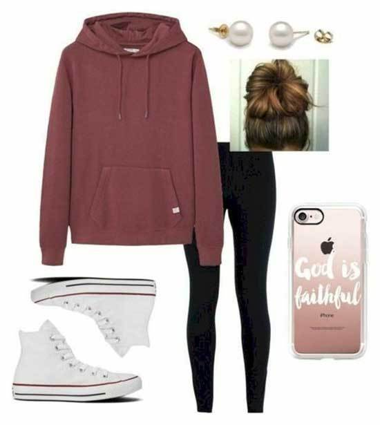Simple Outfit Ideas for School