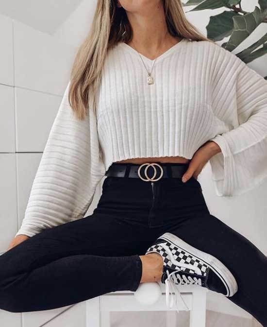 Simple Outfits for School