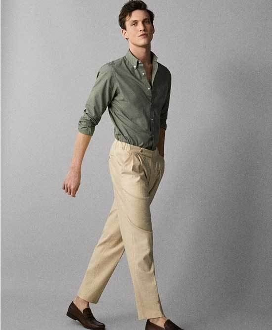 Mens Simple Business Outfits-11