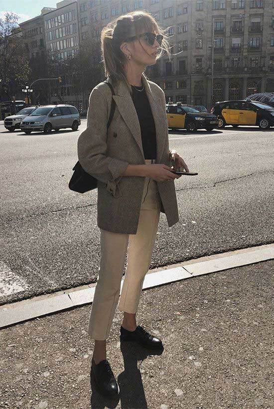 office Casual Spring Outfits-13