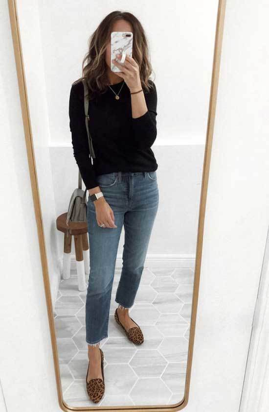Simple Flats Outfits-14