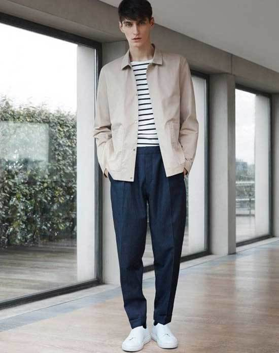 Mens Simple Navy Pants Outfits-17