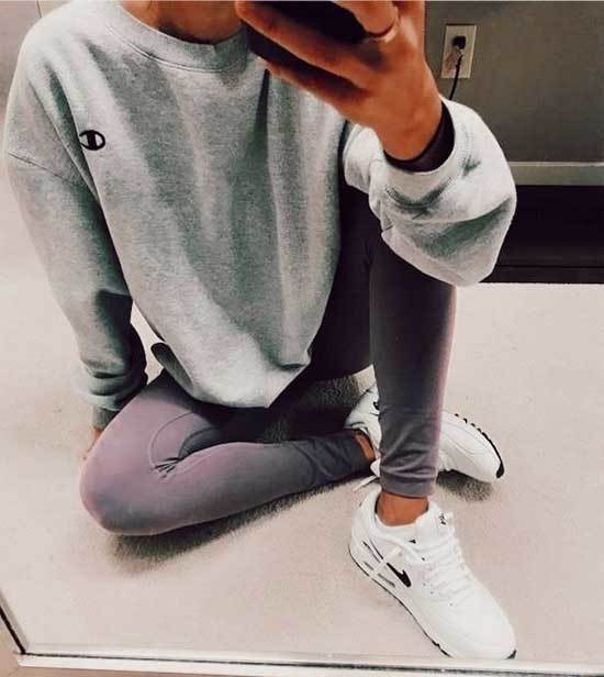 Hipster Style Lazy Day Outfits-19