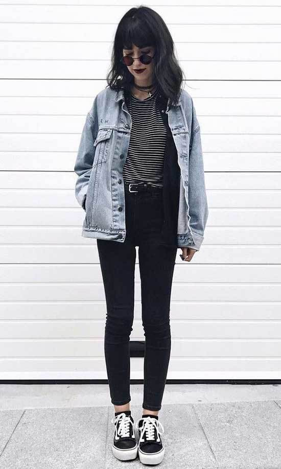 Jean Jacket Outfits-23