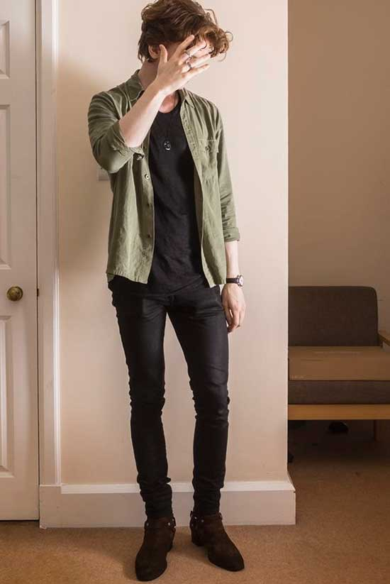 Mens Simple Daily Outfits-9