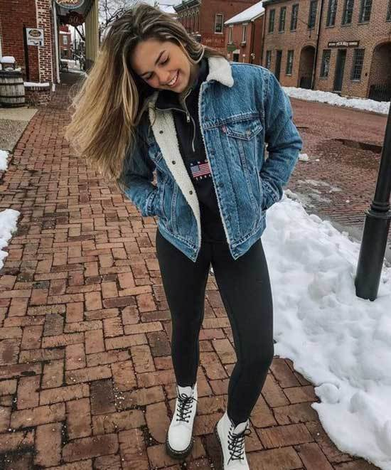 Cute Jean Jacket Outfits