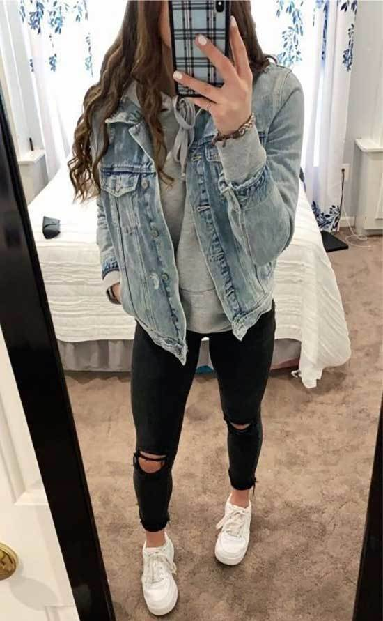 Jean Jacket Outfits