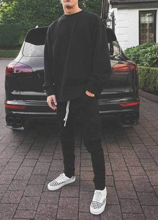 Simple Sporty Outfits for Guys-13