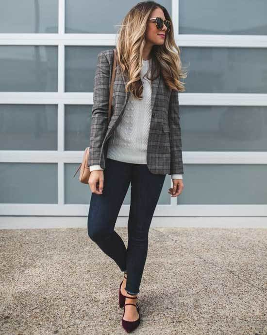Business Casual Teacher Work Outfits-13