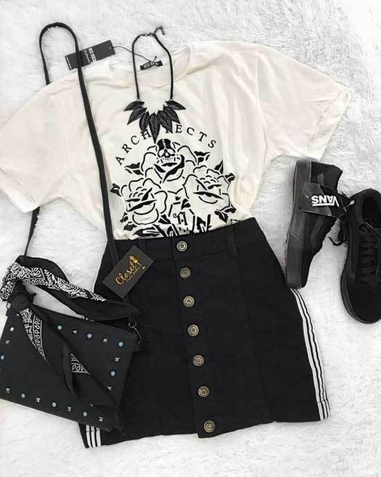 Tumblr Concert Outfits for Women-16