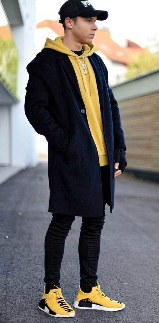 Sporty Winter Outfits for Guys-17