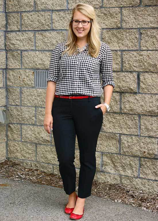 Business Casual Teacher Outfits-17
