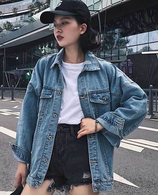 Daily Oversized Jean Jacket Outfit Ideas-20