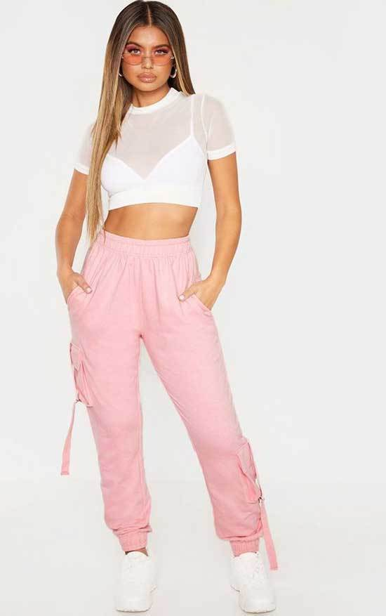 Pink Trousers Outfit 2020-22