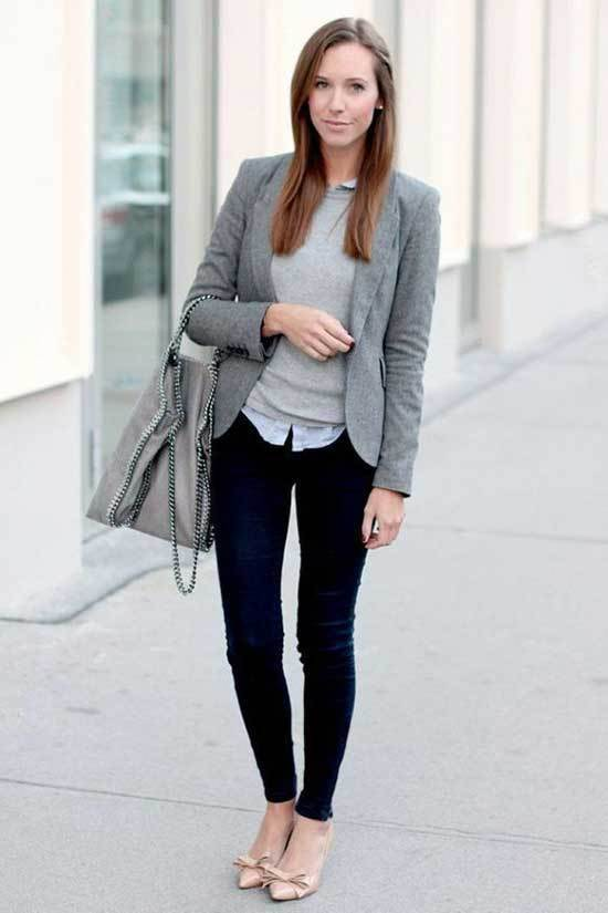 Business Casual Teacher Outfits-22