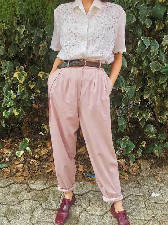 Pink Trousers Outfit 2020-23