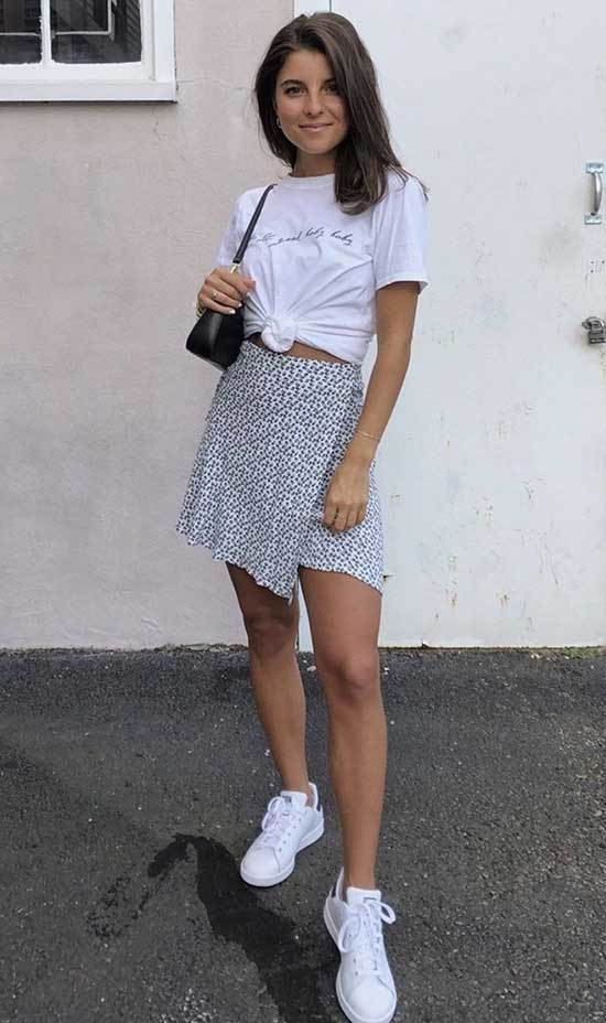 Cute Summer White Outfits-23