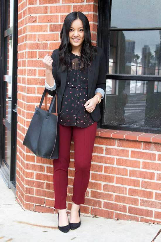 Business Casual Teacher Outfits-23