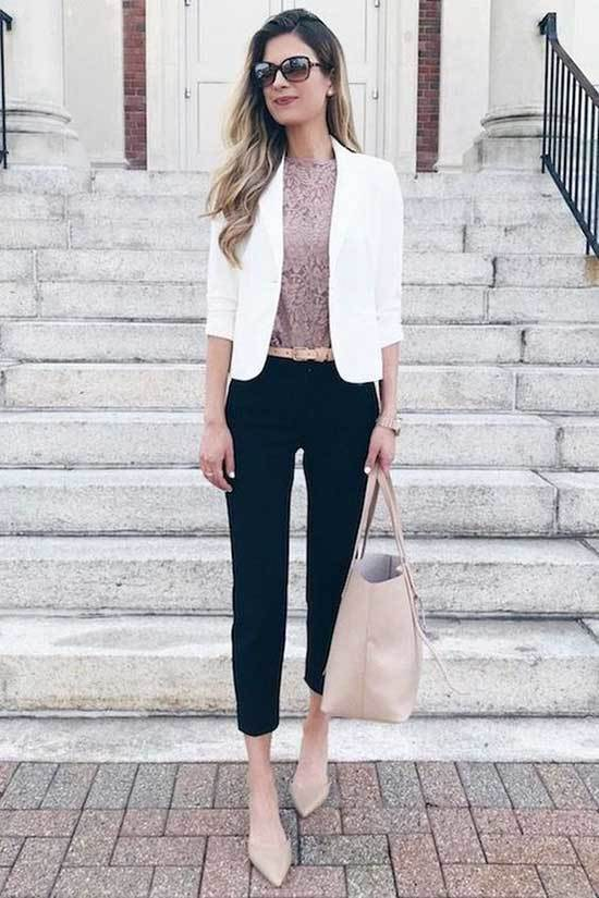 White Blazer Clothing Suggestions-23