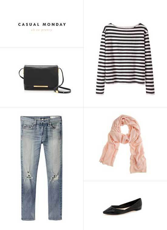 Striped T-Shirt Clothing Suggestions-25