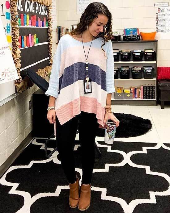 Business Casual Teacher Outfits-27
