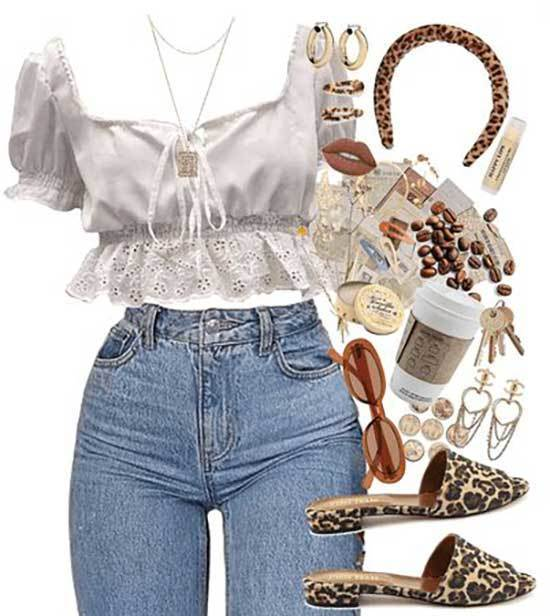 Blue Jeans Concert Outfits for Women-6