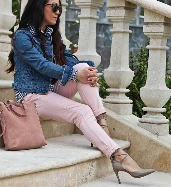 Light Pink Trousers Outfit 2020-7