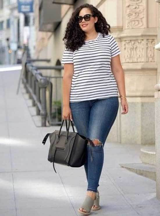 Heels and Jeans Plus Spring Outfits-8
