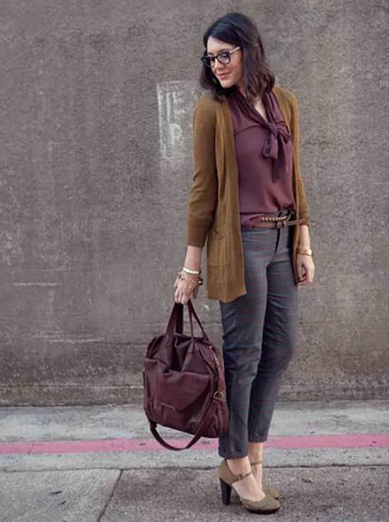 Business Casual Teacher Fall Outfits-8