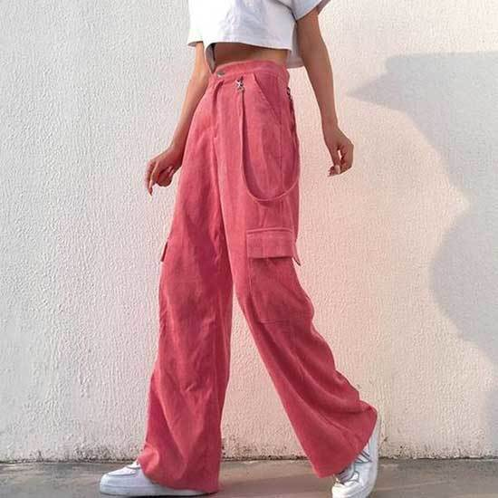 Pink Trousers Outfit 2020-9