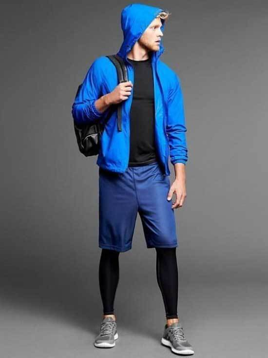 Sporty Layer Pants Outfits for Guys-9