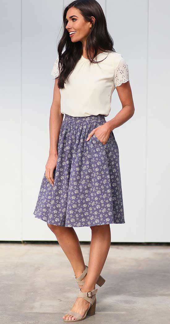 Business Casual Teacher Outfits for Summer-9