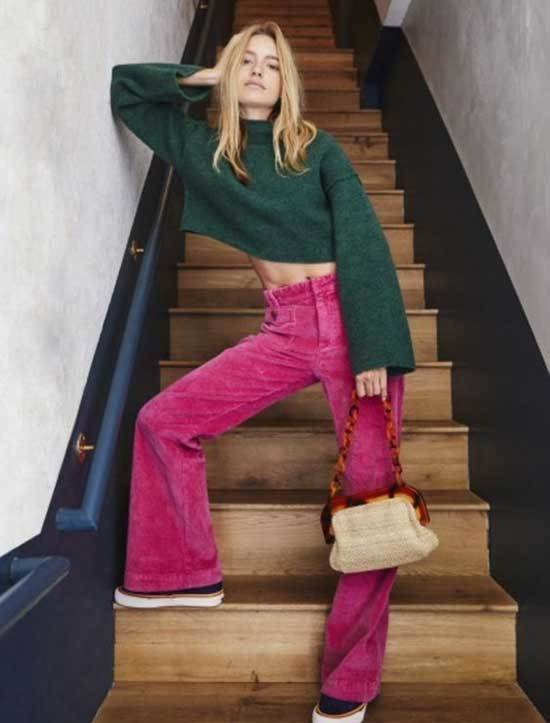 Hot Pink Pants Womens