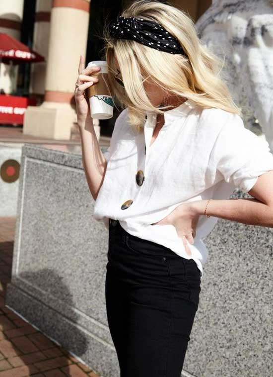 Simple White Shirt Outfits-10