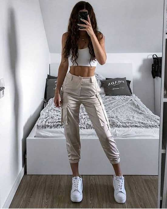 Sporty Joggers Outfits for Girls-11