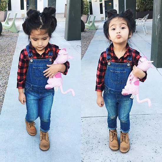 Pretty Street Style Clothes for Little Girls-12