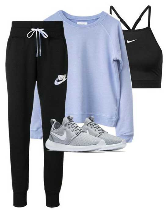 Sporty Nike Outfits for Girls-13