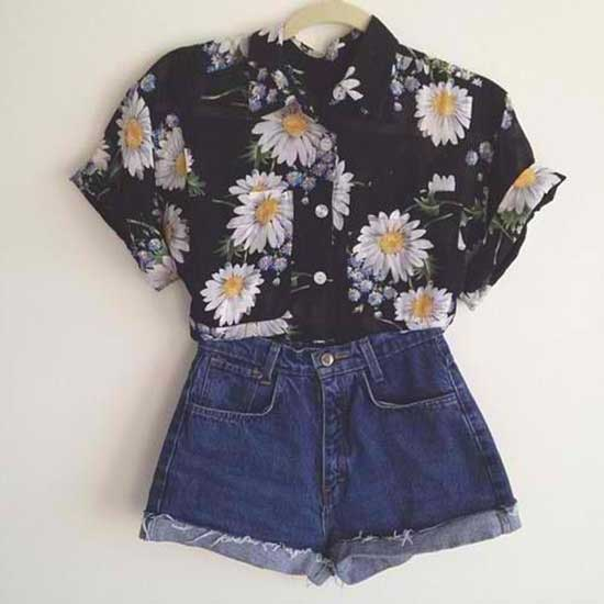 Cute Simple 80S Style Outfits-14