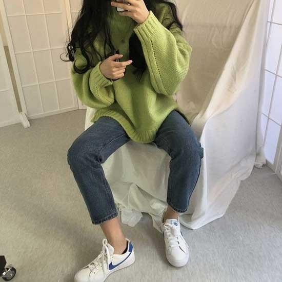 Casual Korean Girl Outfits-17